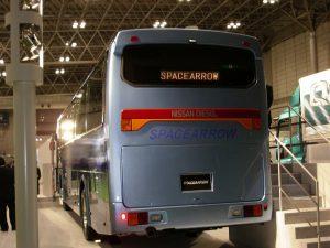 観光バス外装(リヤ)