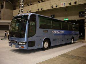 観光バス外装(フロント)
